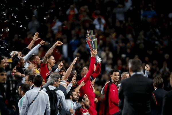 Финал Лиги Наций: португальцы празднуют победу